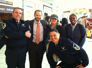 Part of my awesome Air Force team.